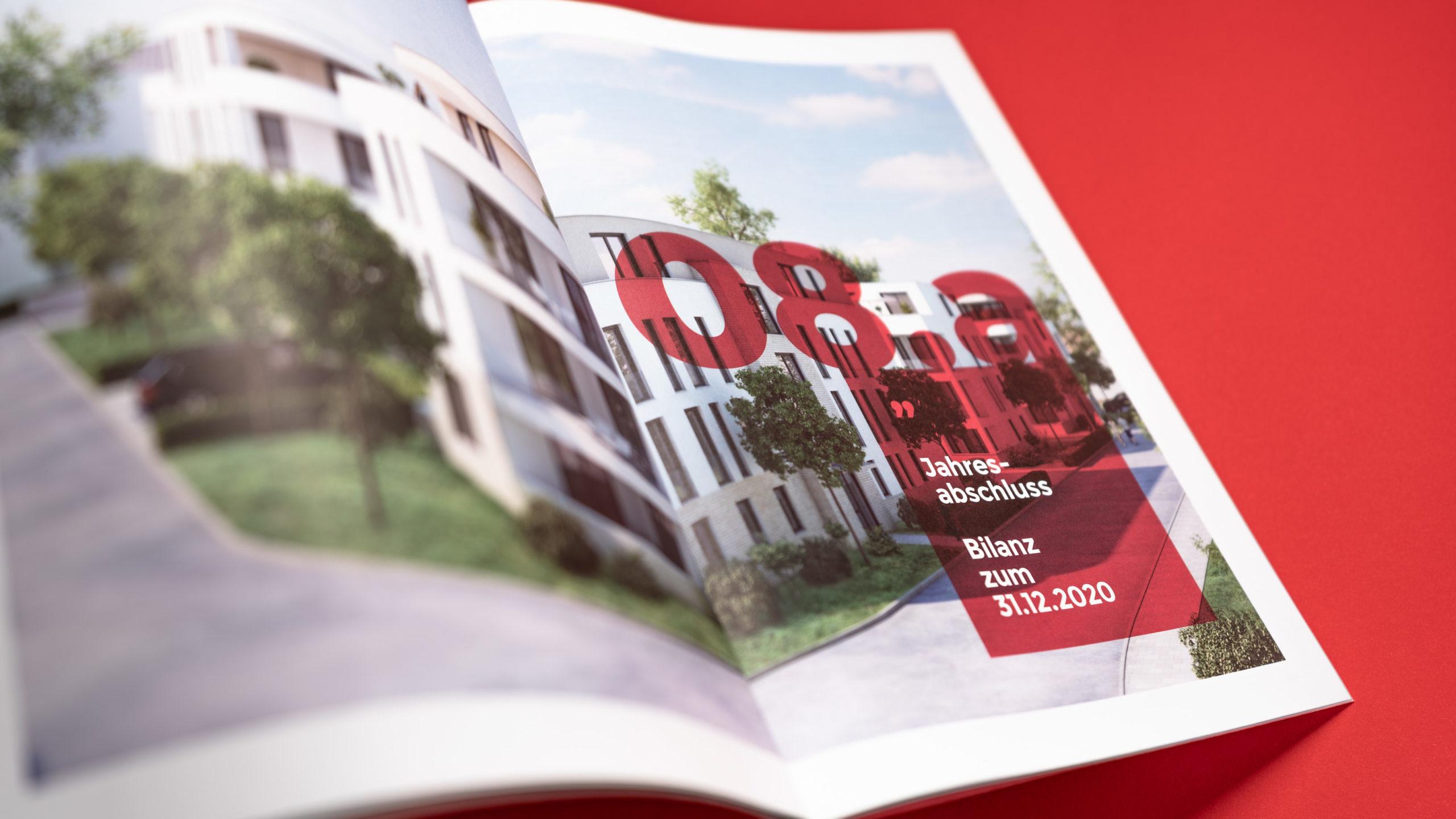 Wohnbau Bergstrasse eG, Geschäftsbericht 2020